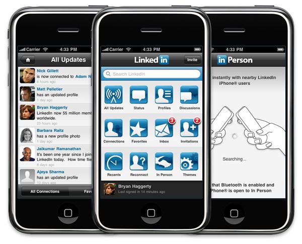 LinkedIn 3.0 for iPhone